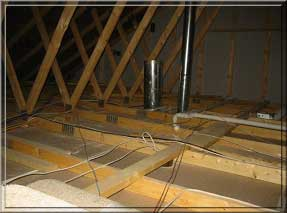 Indianapolis Home Inspector New Construction Attic